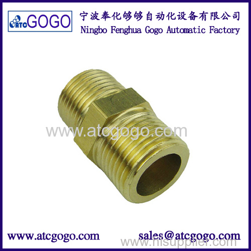 high quality screw connector pneumatic muffler brass fitting for solenoid valve 1/8 1/4 3/8 1/2