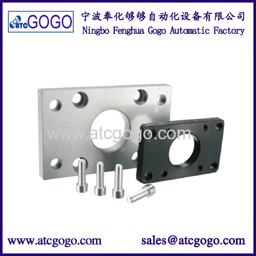 Dual rod sliding table cylinders aluminum airtac type pneumatic double acting cylinder