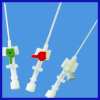 iv catheter with injection port