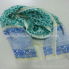 Polyester printed scarf fashion scarf