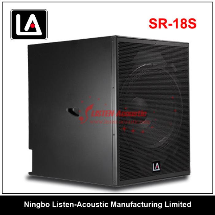 RCF Dual 18 Inch Subwoofer Speaker SR-218S SR218S-SR218SA