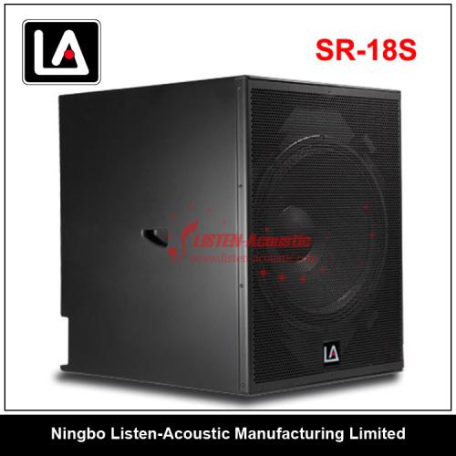 Professional RCF 18 Inch Subwoofer Speaker SR-18S SR18S