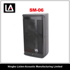 6inch professional portable wooden cabinet speaker
