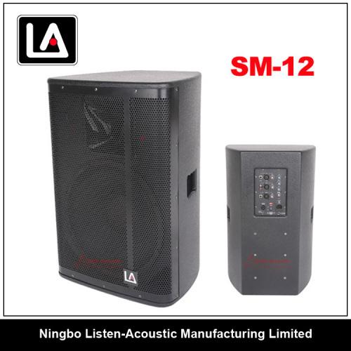 big power 12inch wooden cabinet speaker