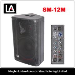 12inch monitor speaker/wooden cabinet
