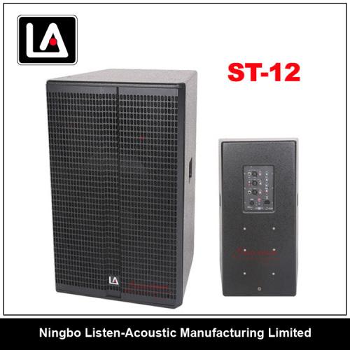 12 inch full range wooden cabinet speaker/class-D amplifier