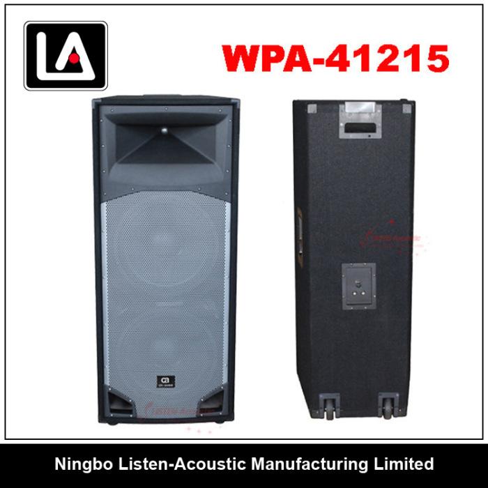 Subwoofer Box Design Outdoor Speaker Box 2x15 Speaker Box From China