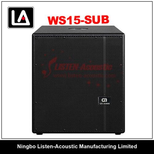 "15"" wooden cabinet subwoofer speaker/powerful/passive"