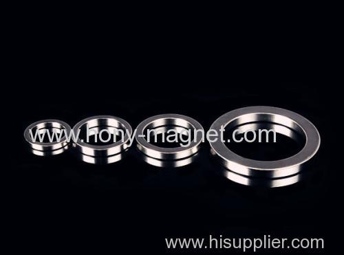 Super Permanent n45 ring ndfeb magnetic