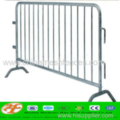 Hot dipped galvanized crowd control barrier mainly exported to American markets