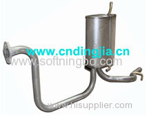 MUFFLER SET-EXHAUST . REAR 96564100 / 96570738 / 96565756 / 96570739 / 96603787 FOR DAEWOO MATIZ 0.8 - 1.0