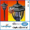 Cixi landsign outdoor use mosquito killer solar lamp