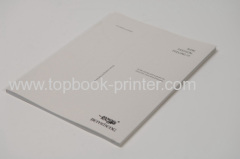 embossed paper cover embossing portrait softback book