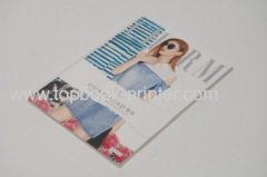 online silver stamping cover clothing brochure softcover book