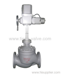 ZAZP electric single seat regulating valve
