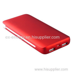 Shenzhen Li-ion Polymer Power Bank with 5000ahm Capacity