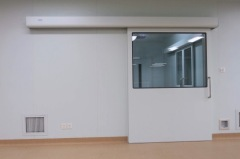 high quality European style automatic sliding hermetic doors with Dunker motor