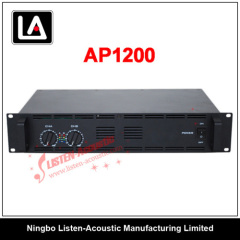 Professional 2U Stereo Sound System Power Amplifier