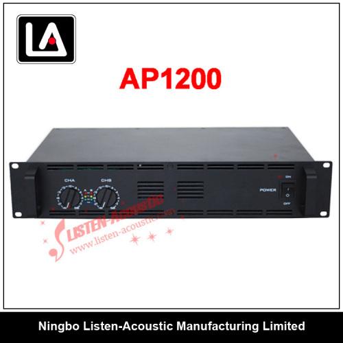professional amplifier/power amplifier /2U stereo amplifier