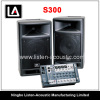STAGEPAS 300 Portable PA System 2.1 plastic speaker box COMBO SYSTEM