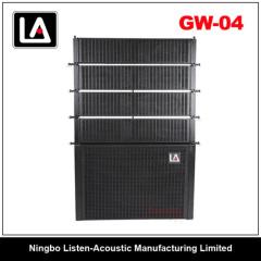 Class-D amplifier/ribbon driver/active line array speaker