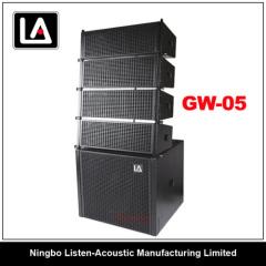 subwoofer amplifier 500w/5inch line array/high power/mini