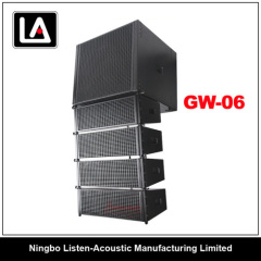 Line array system GW - 06 with class-D amplifier