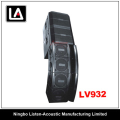 LV932 18inch line array passive line array subwoofer system