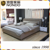 Bedroom furniture fabric king size bed