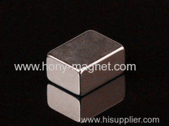 High Power N40 Sintered Ndfeb Magnet Block