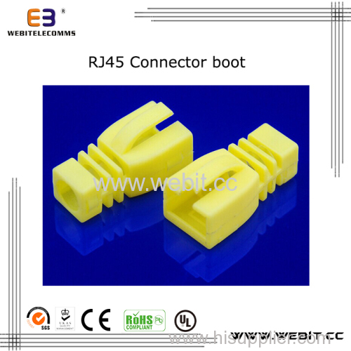 RJ45 Connector boot for patch cord with Clip