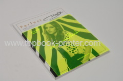 250gsm art paper gold stamping cover softcover books with printed PVC dust jackets