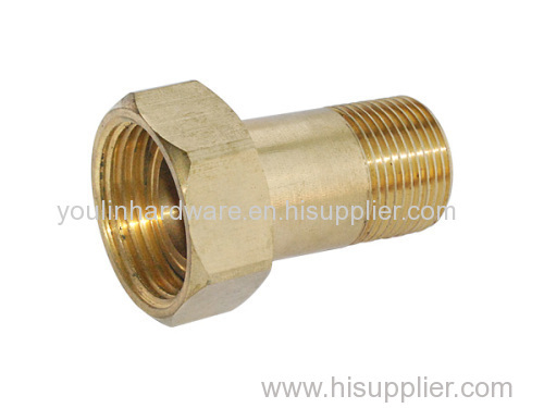 Hexagon brass clamping parts