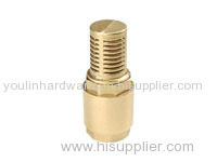 Natural brass bolt products