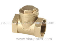 Hexagon two way check valve for plumbing system