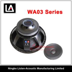 Aluminum PA woofer/woofer manufacturers/Aluminum frame Pa wo