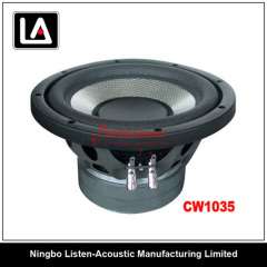 2inch voice coil magnet steel auto woofer