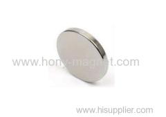 Sintered Ndfeb Neodymium Permanent Magnet Disc