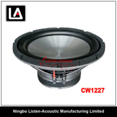 12 inch size auto woofer