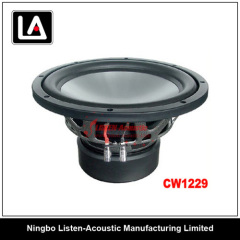 12 inch size auto woofer clear and smooth voice