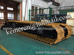 35 ton steel track undercarriage crawler undercarriage