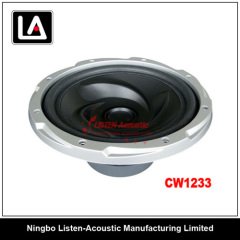 92dB SPL auto woofer clear and smooth voice
