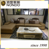 Hotel furniture teak furniture leather sofa
