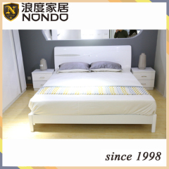 Contemporary bedroom bed design panel bed 5901