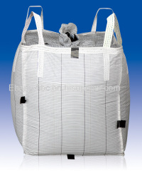 100% PP woven jumbo bag super sacks water proof cement container bags FIBC with manufacturer price