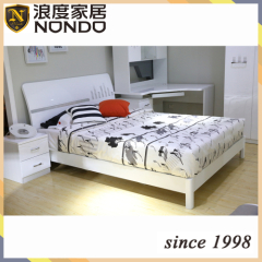 Bedroom set MDF panel bed 5907