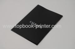 linen-faced paper cover portrait section sewn softcover book