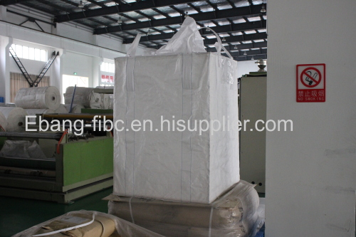 4 loop talcum powder packaging jumbo bag