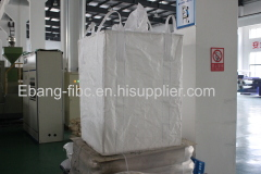 jumbo bag for silica powder with baffle and brace inside
