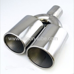 high polished low price stainless steel universal muffler parts flexible car exhaust pipe